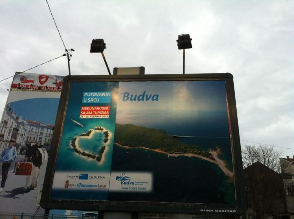 Rađenović: Od 250 reklamnih objekata, samo tridesetak Mediteran reklama