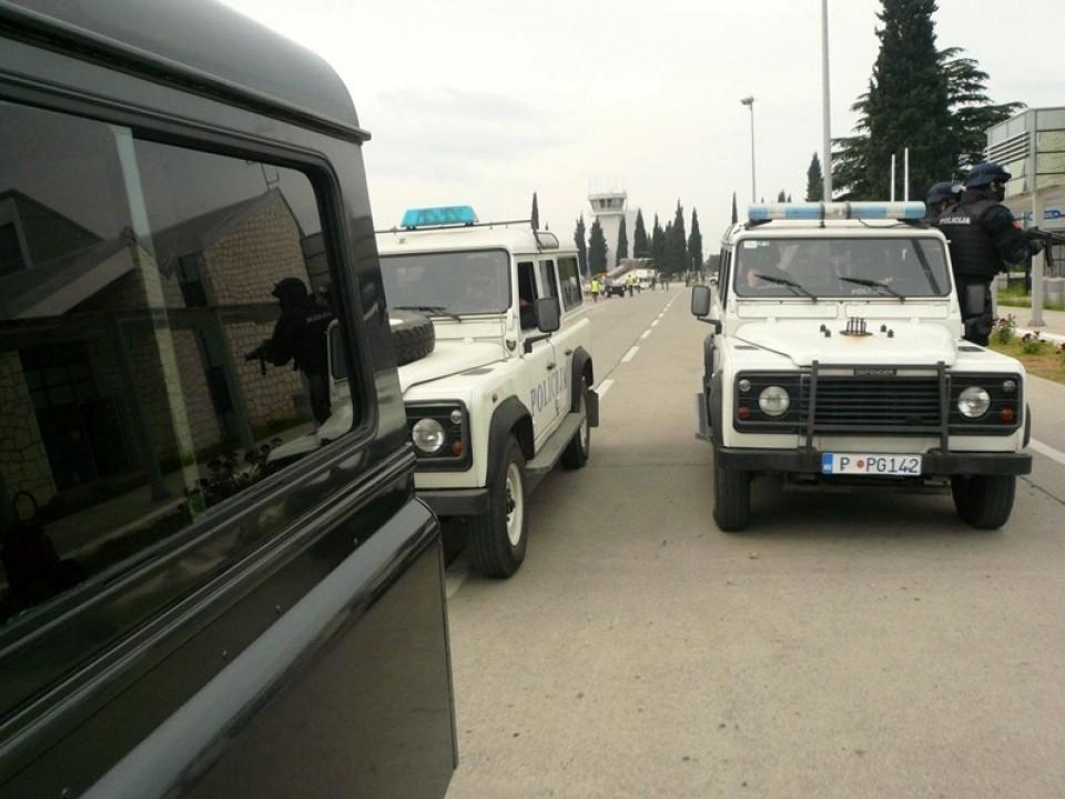 U akciji policije privedeni Ljubiša, Ivanović, Marković, Kažanegra, Slovinić, Nikola i Goran Sjekloća