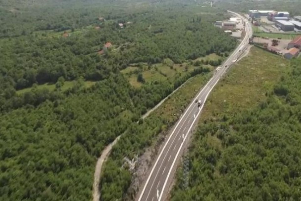 AMSCG: Obustave na putu Budva - Cetinje