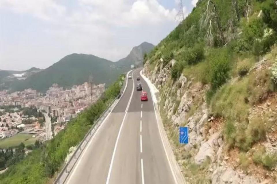 Obustave saobraćaja na putu Budva - Cetinje