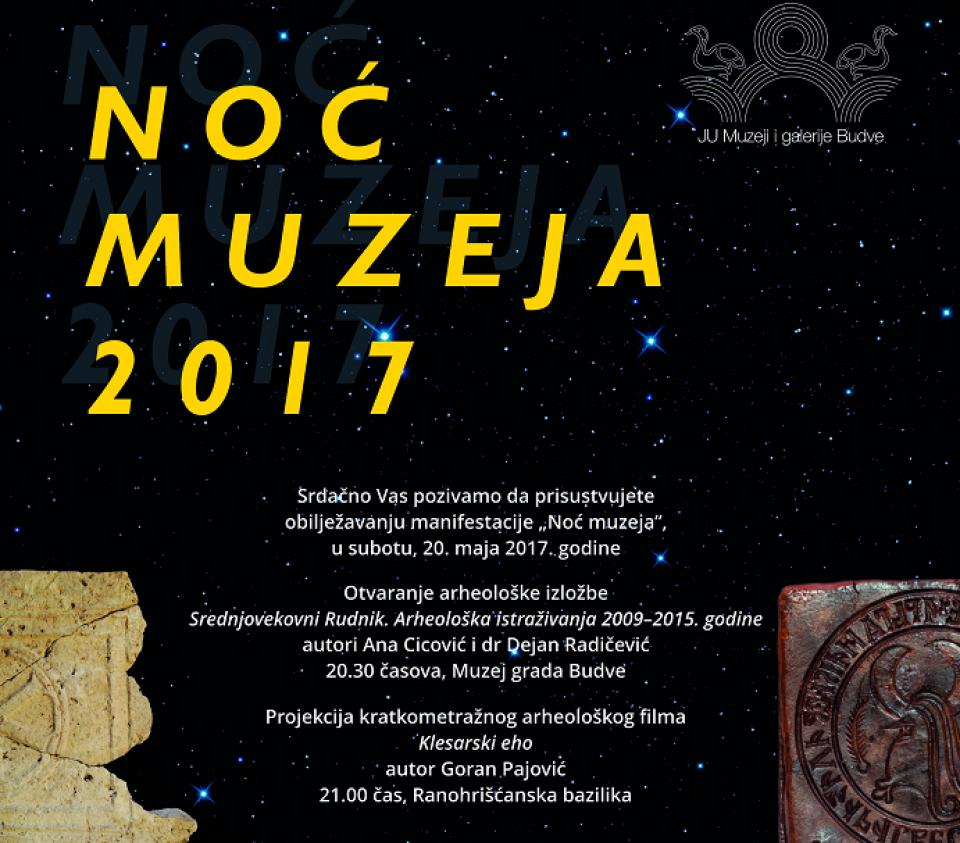 Noć muzeja u Budvi i Petrovcu