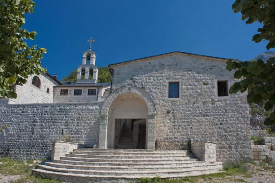 Slava Božića u manastiru Stanjevići