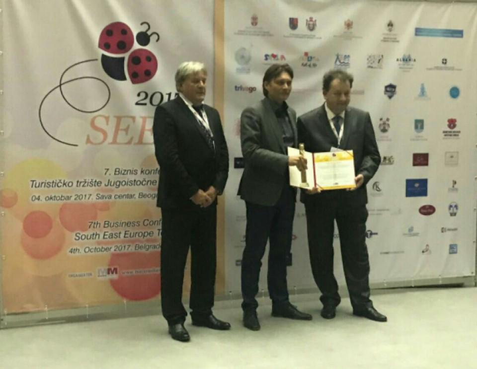Morskom dobru dodijeljena nagrada Brand Leader Award 2017