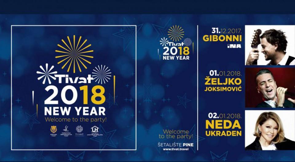 Džiboni i Željko Joksimović u Tivtu za novogodišnje praznike