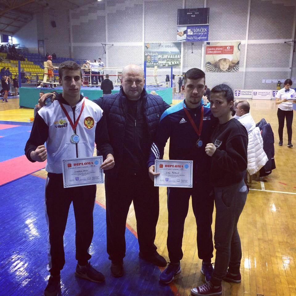 Pupović i Lubarda osvojili zlato u Pljevljima