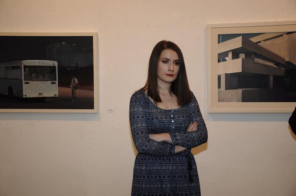 Otvaranje izložbe slika Lidije Nikčević
