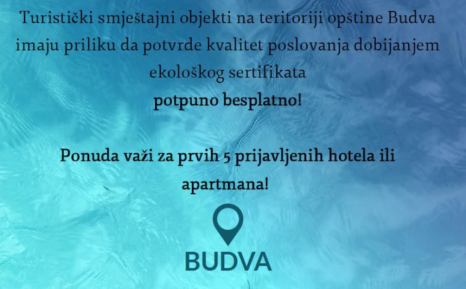 Učinimo Budvu održivom turističkom destinacijom