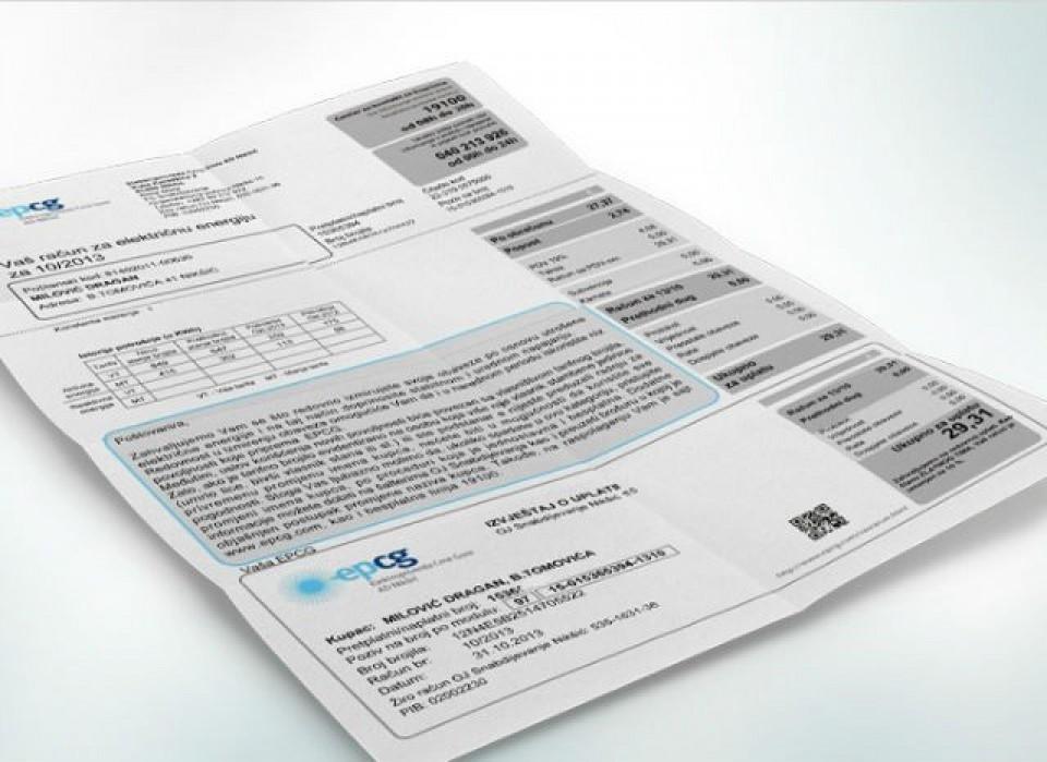 Prosječan martovski račun za struju u Budvi 35 eura