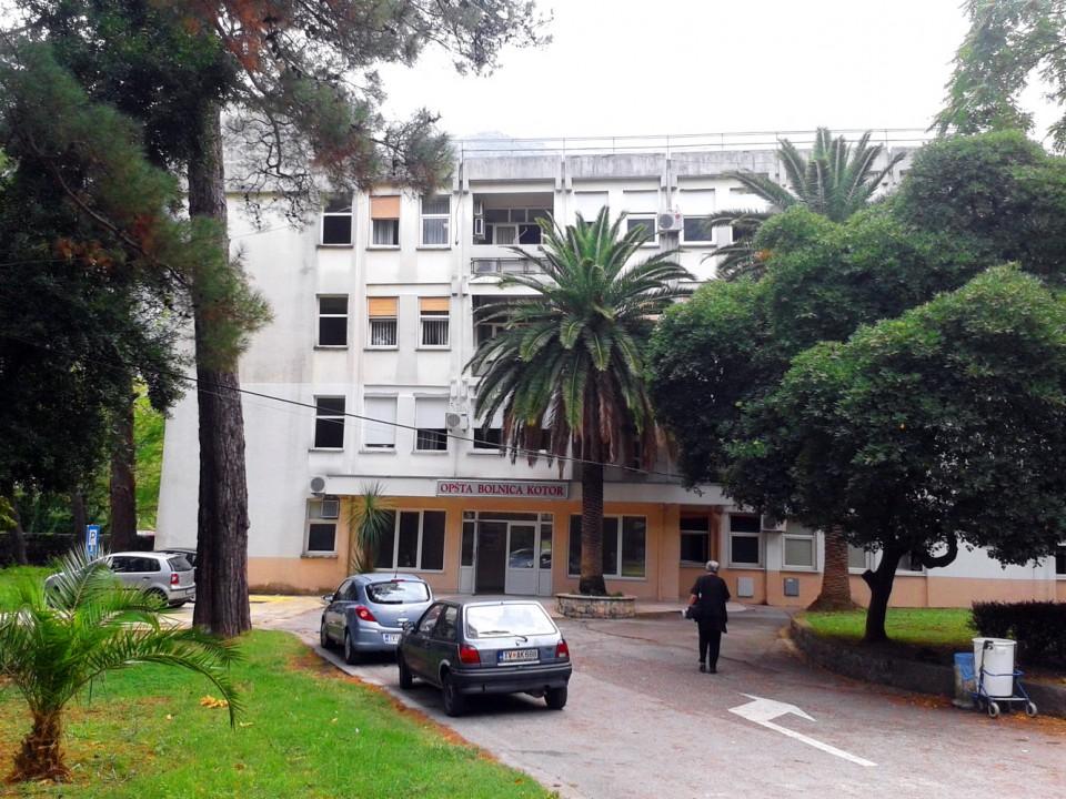 Zabrana posjete pacijentima u Kotorskoj bolnici
