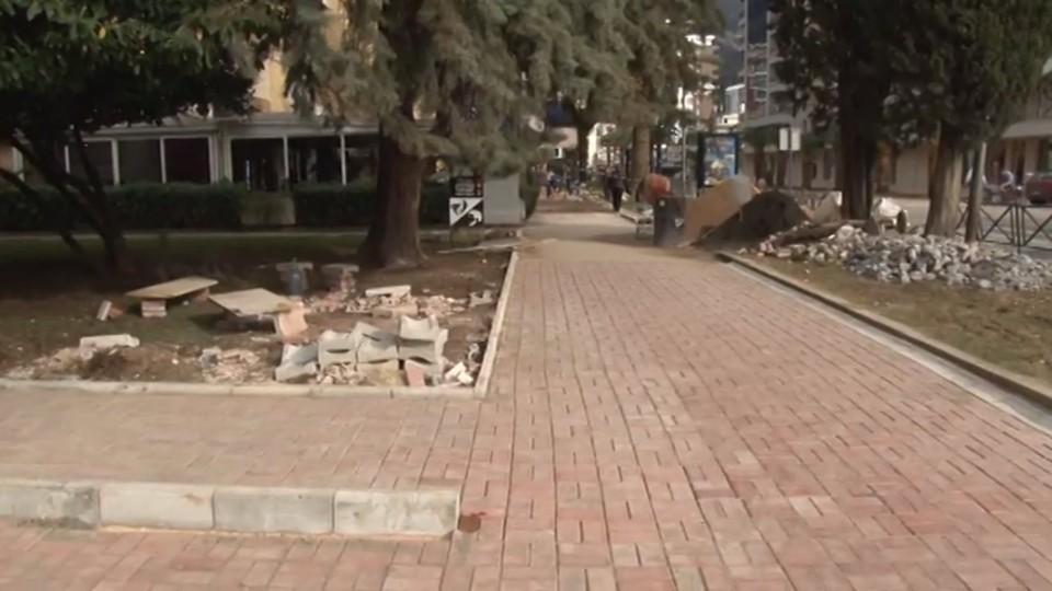 Započeti radovi na poravnanju trotoara, građani nemaju razloga za brigu