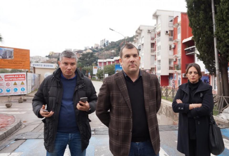 Krapović: Ozbiljno ćemo se pozabaviti pukotinama na Mediteranskoj ulici