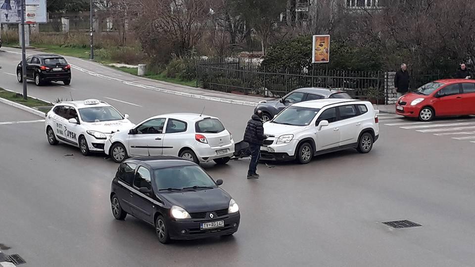 Saobraćajna nezgoda kod Opštine