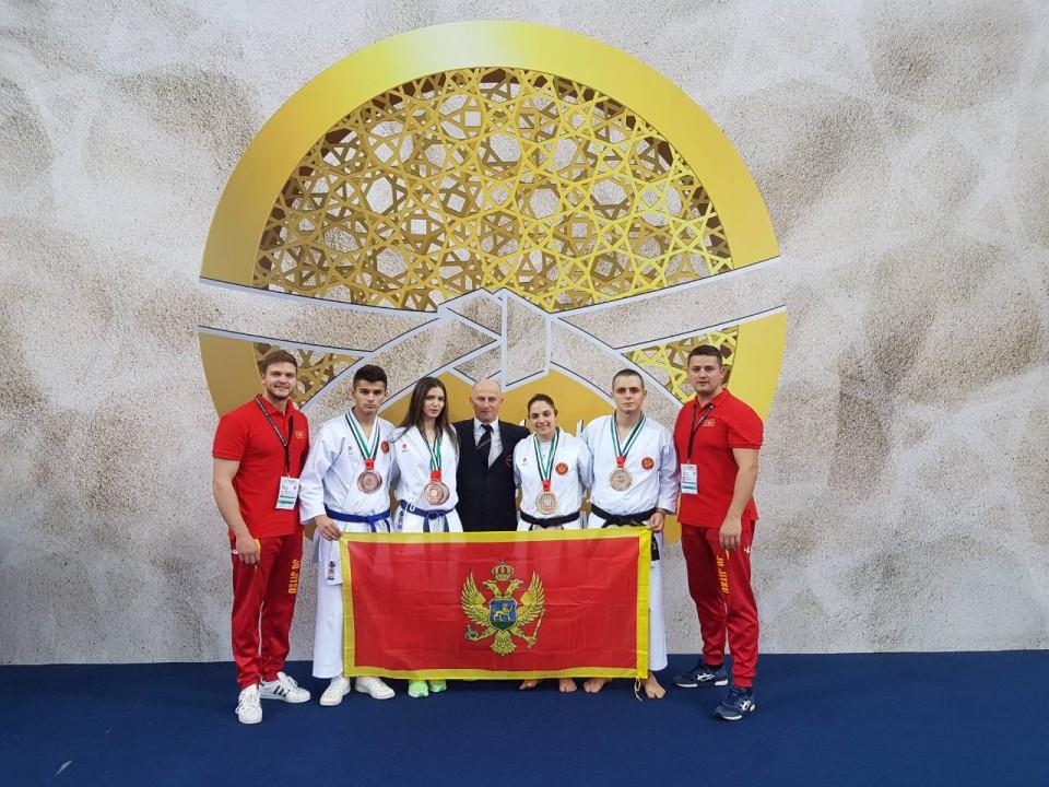 Crnogorska reprezentacija uspješna na jiu-jitsu prvenstvu u Abu Dabiju