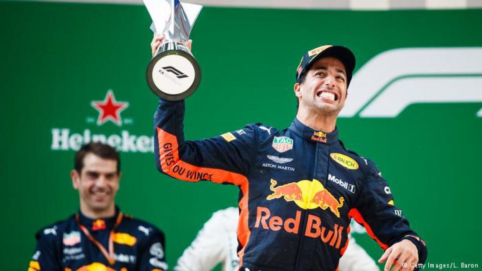 Formula 1: Pobjeda Rikarda u Šangaju