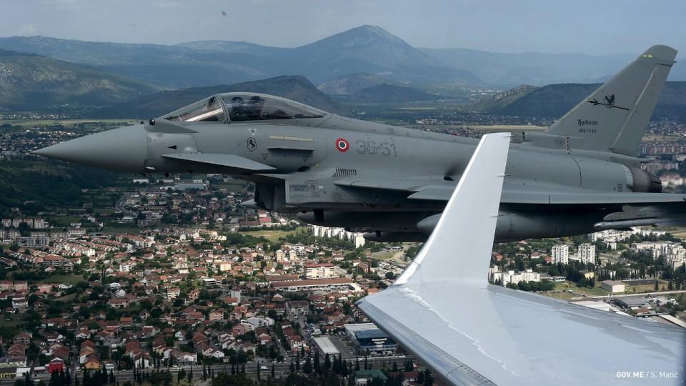 Patroliranje počelo, NATO čuva crnogorsko nebo