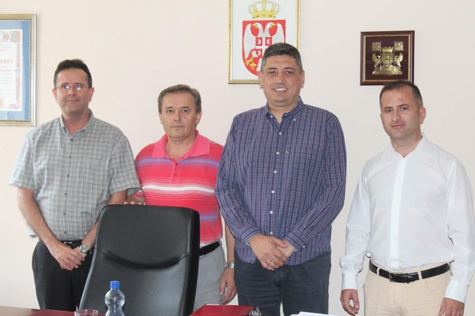 Nastavak saradnje bratskih opština Budva i Čukarica