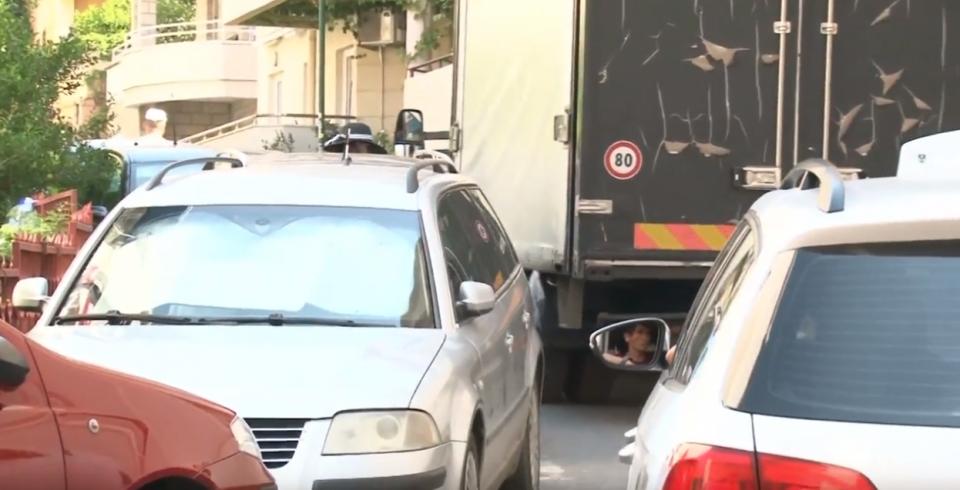 Saobraćajni kolaps u Rafailovićima