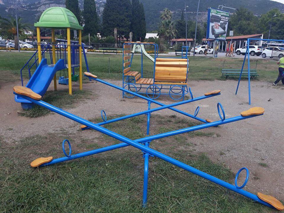 Obnovljeno igralište u blizini hotela Tre Canne