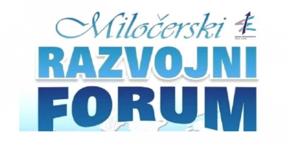 Miločerski razvojni forum krajem septembra