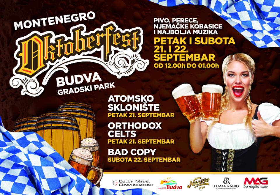 Prvi Oktoberfest u Budvi