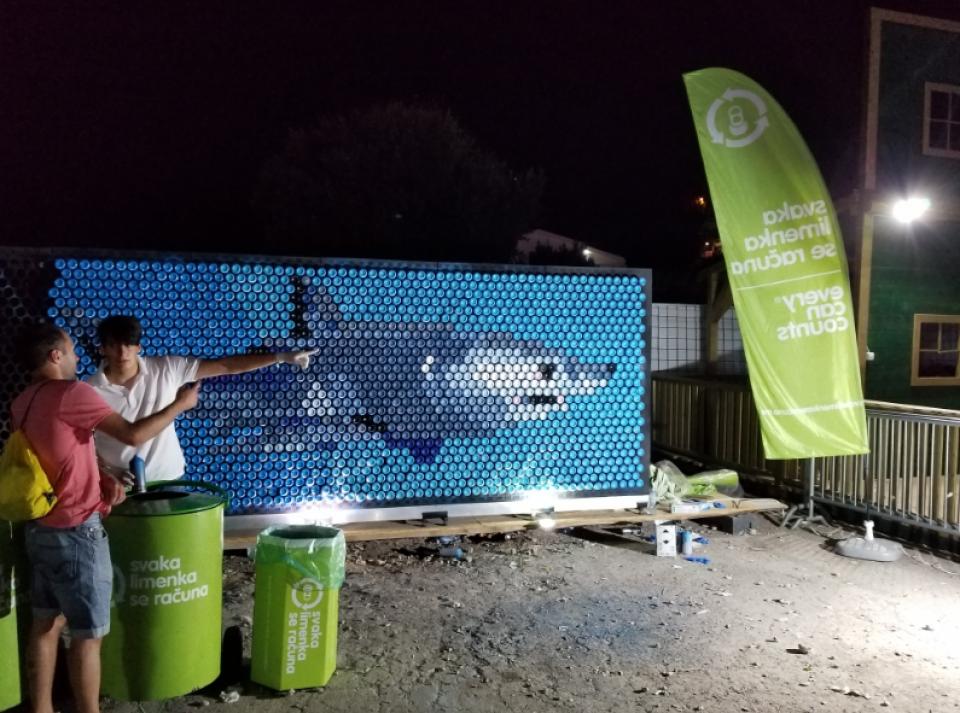 Sakupljeno preko četiri hiljade limenki u toku Sea Dance Festivala